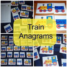 Mothers Madness: Train anagrams