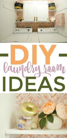 I have some DIY Closet organization ideas in here for you as well  as some more specific DIY Laundry Room Organization. I bet this laundry room  makeover will inspire you to get your space in order and it make it cute too! #lifehacks #lifehck #goodlifehacks #tips  #lifehackideas #usefullifehacks #lifehacksyoudontknow #laundry #laundryhacks  #organization #organizing #organizationhacks #gettingorganized  #closetorganization #diy