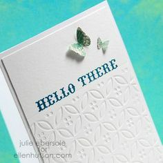 Faux Letterpress tutorials... brilliant for customized greeting cards!
