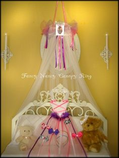 FaNcY NaNcY Bedroom canopy tent crown Fairy Ring by SoZoeyBoutique, $32.99