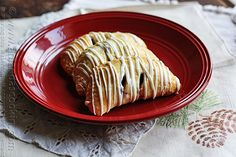 TF - Easy Cranberry Hand Pies with White Chocolate Drizzle @Amanda Formaro Amanda's Cookin'