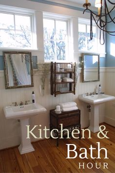 Join us Tonight 8/7c for Kitchen and Bath Hour. We're pinning our favorite designs and talking storage, organization, and cleaning tips.
