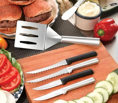 Rada Cutlery: Knives that Stand the Test of Time | Knives Loved for Lifetimes | Give a 100% American-made gift that lasts a lifetime... Rada Cutlery Knives