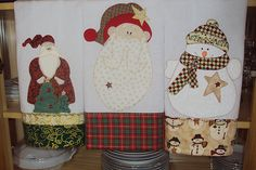 Quilts, patchwork and applique for Christmas
