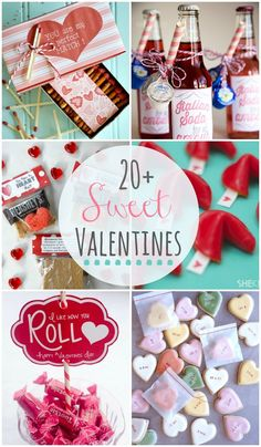 20+ Sweet Valentines - A collection of sweet handmade valentines!! { lilluna.com }