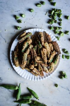 Smashed Cayenne + Cornmeal Crusted Fried Okra / by for the love of the south