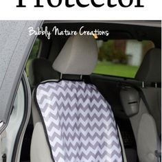 DIY Car Seat Protector! - Bubbly Nature Creations