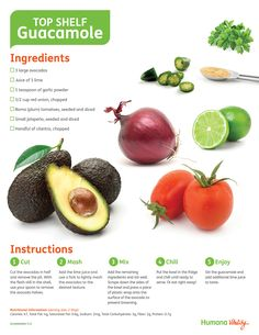Top shelf #Guacamole! #Recipe - just add a little salt & this is the way we that make Guac! Delicious!