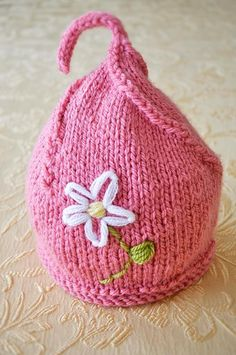 Sweet Pea Hat in Pink