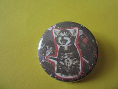 Kitteh Too 1.25 Inch CAT PIN by TheEscapistArtist on Etsy, $2.50