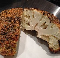 How to make herb roasted cauliflower