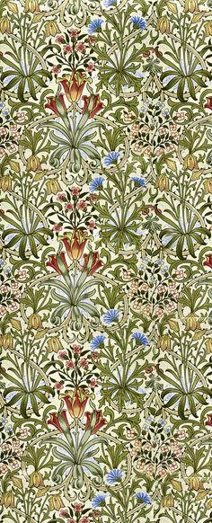 William Morris print.