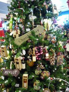 wine theme Christmas