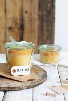 Just great Der für-die-liebsten-Freunde-Kuchen: Beschwipster Apfelkuchen im Glas.