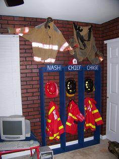 Truck Bedding Fireman Theme Bedrooms Firefighter Bedroom