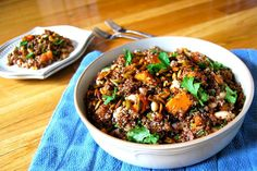 Food52 - Red Quinoa Salad