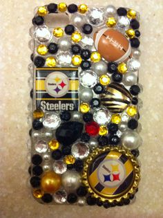 Pittsburgh Steelers by GlamxLife on Etsy, $45.00