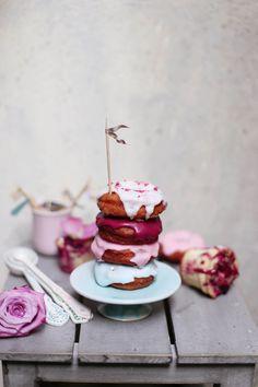 ... vanilla donuts ...