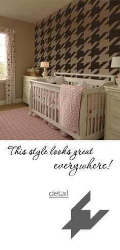 Stencils are a great way to add a pop to a new house!