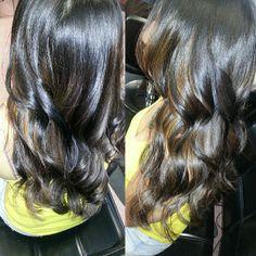 Burgundy Brown Hair on Pinterest | Dark Burgundy Hair, Red Violet ...