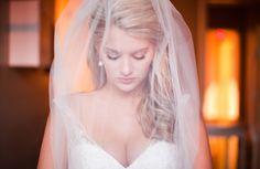 bridal portrait - veil