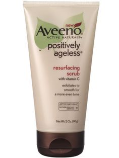 Aveeno Positively Ageless Resurfacing Scrub