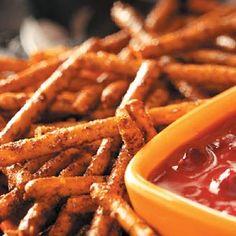 Pretzel Bones - seasoned pretzel sticks