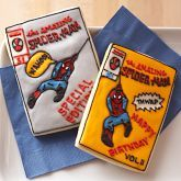 Marvel Comics comic book cookie cutters at Williams-Sonoma