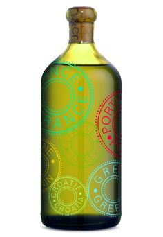 Limited Edition Olive Oil Decanter | O. for all our olive oil #packaging loving peeps PD