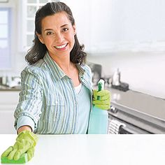 Learn to speed-clean your entire house with these smart, quick cleaning tips from All You magazine.