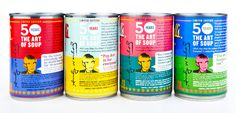 Campbells Limited Edition SOup  Andy Warhol   Back of Pack