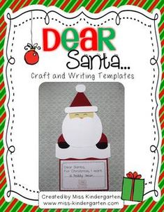 Dear Santa- Craft and Writing Templates  $
