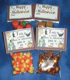 """FREE LESSON - """"Halloween Treat Bag Topper"""" - Go to The Best of Teacher Entrepreneurs for this and hundreds of free lessons.  #FreeLesson   #Halloween  http://www.thebestofteacherentrepreneurs.net/2013/10/free-misc-lesson-halloween-treat-bag.html"""