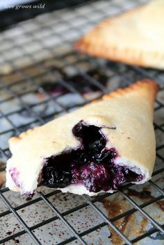 Blueberries and Cream Hand Pies