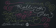 Rolling Pen - Webfont & Desktop font « MyFonts