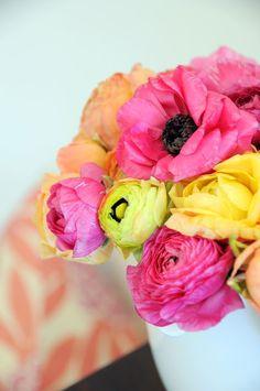 bright flower bouquet