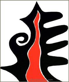 Derriere le miroir on pinterest alexander calder marc for Alexander calder derriere le miroir
