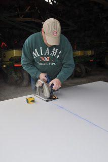 Grassy Branch Farm: DIY Concrete Counter Top