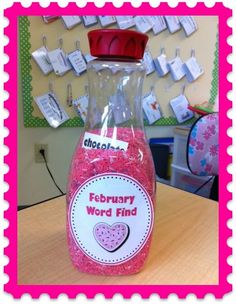 reading centers, valentine day, word search, kindergarten lessons, word sorts