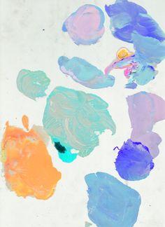 pastels and paints