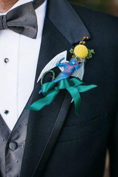 super hero boutonnieres for a fun groom look #groom #superhero #weddingchicks http://bit.ly/1hPiBJl