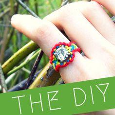 jewelry tutorials, diy fashion, gemstone rings, lion creation, diy jewelry, lions, quiet lion, friendship ring, nelli friendship