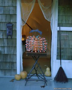 pumpkins lollipop holder