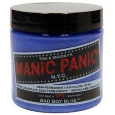 Manic Panic - Bad Boy Blue #manicpanic #badboyblue #hairdye #hair #dye