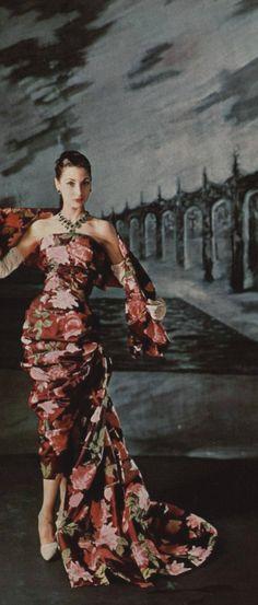christian dior, dior dress, 1957 christian