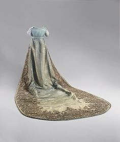 Court dress of Queen Louise of Prussia, 1800's From Hohenzollern Castle via The Epoch Times