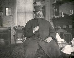Photo of controversial Charles Forbes, footman to the Lincoln Presidential carriage. Driver of the carriage during accident which injured Mary Lincoln as well as being on duty the night of the President's assassination. Forbes and patrolman John Parker shared the blame for leaving their posts outside the Presidential box to have a drink. Mary later held Forbes responsible for the President's death and wanted nothing to do with him after that.  *s*