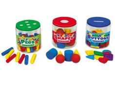 Fill It Up! Fine Motor Jars by Lakeshore Learning Materials. $39.99. As children load up our hands-on jars, they build the fine motor skills they'll need to start writing! Our set includes 3 see-through jars with fun-shaped holes right in the lids...plus 79 objects for children to sort, including buttons, pegs & 3-D foam shapes. Children build classification skills & eye/hand coordination as they fit the objects into the holes...then simply open the jars to grab the pieces and...