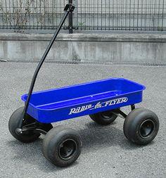 Custom axles for your Radio flyer wagon