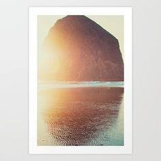 This is where I want to be... Art Print by Kurt Rahn - $17.00 (this is seaside right?)